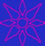 Alpha pattern #12214