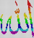 Alpha pattern #12216