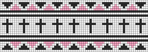 Alpha Friendship Bracelet Pattern #12218