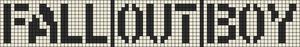 Alpha Friendship Bracelet Pattern #12219