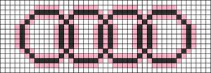 Alpha Friendship Bracelet Pattern #12220