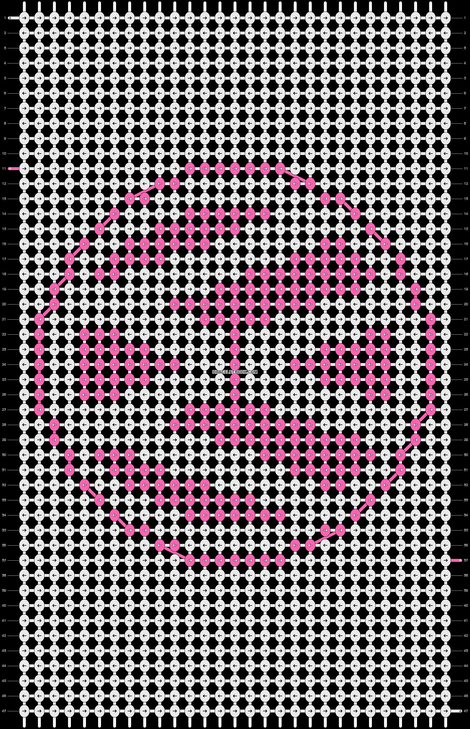 Alpha pattern #12224 pattern
