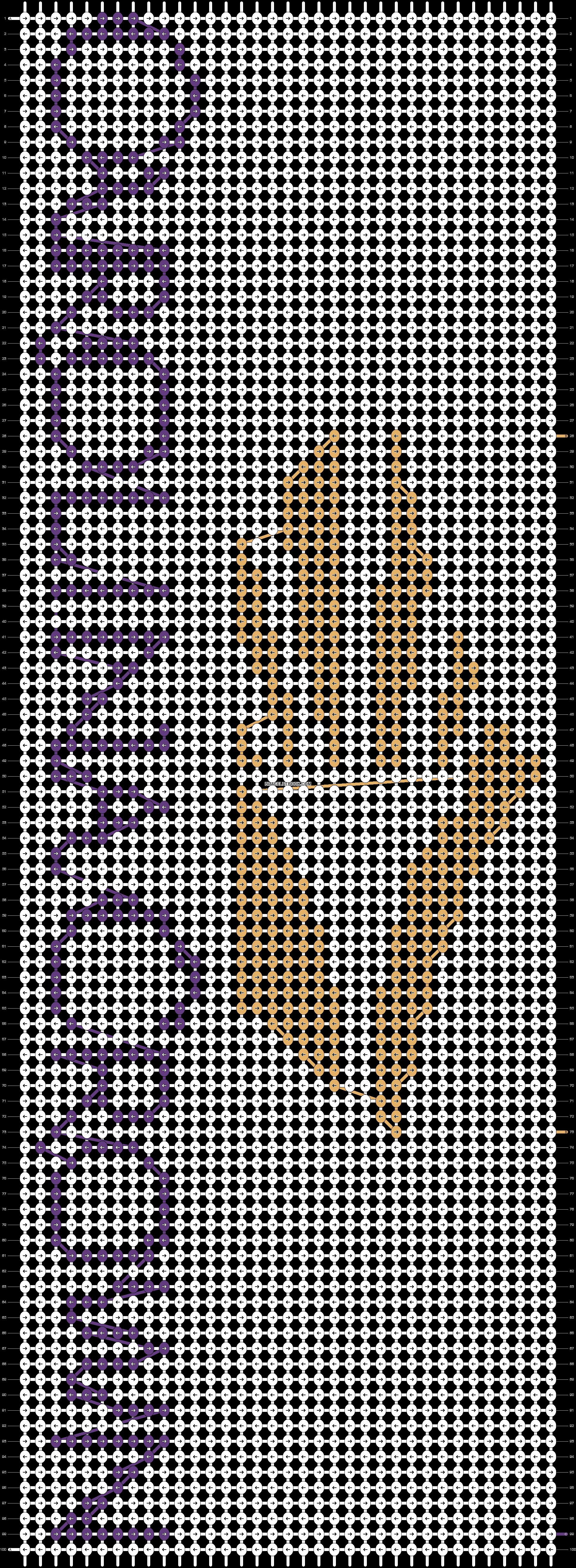 Alpha pattern #12225 pattern