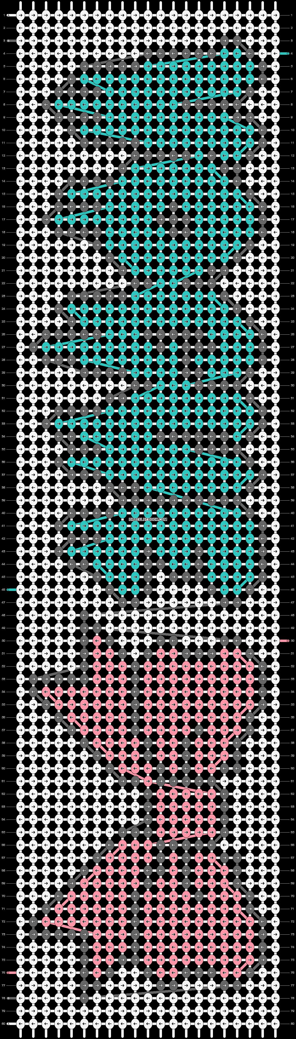 Alpha pattern #12229 pattern