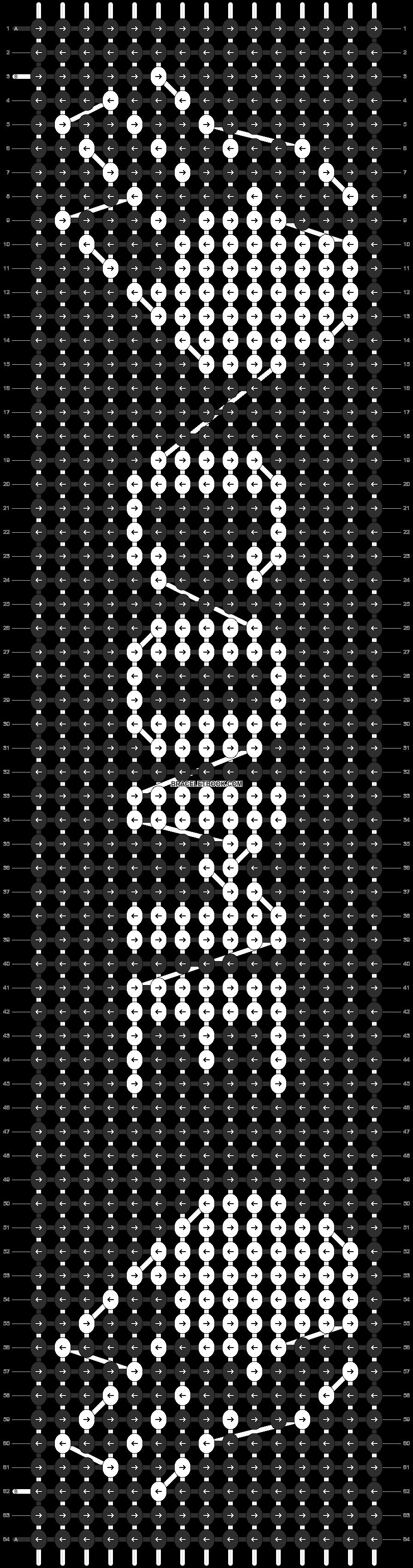 Alpha pattern #12231 pattern