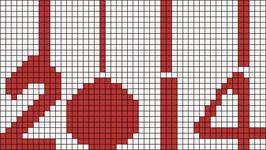 Alpha Friendship Bracelet Pattern #12234