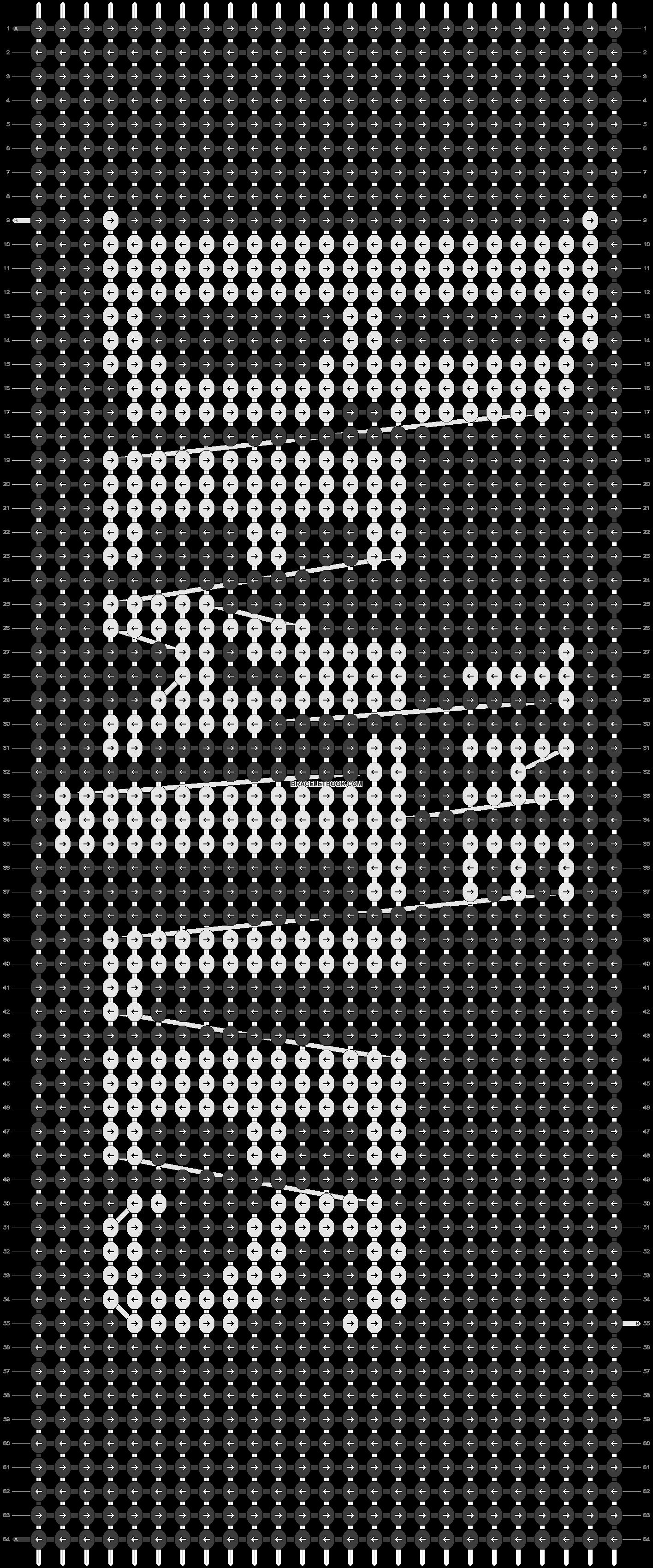 Alpha pattern #12237 pattern