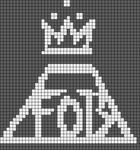 Alpha Friendship Bracelet Pattern #12239