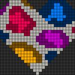 Alpha pattern #12242