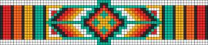 Alpha Friendship Bracelet Pattern #12247