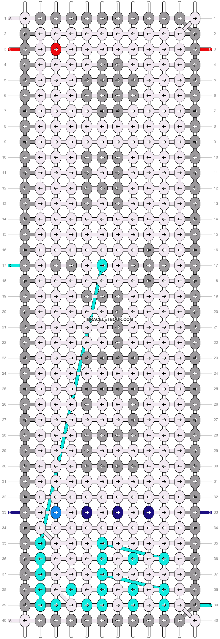 Alpha pattern #12259 pattern