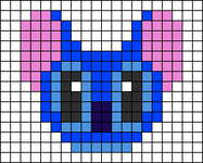 Alpha pattern #12264