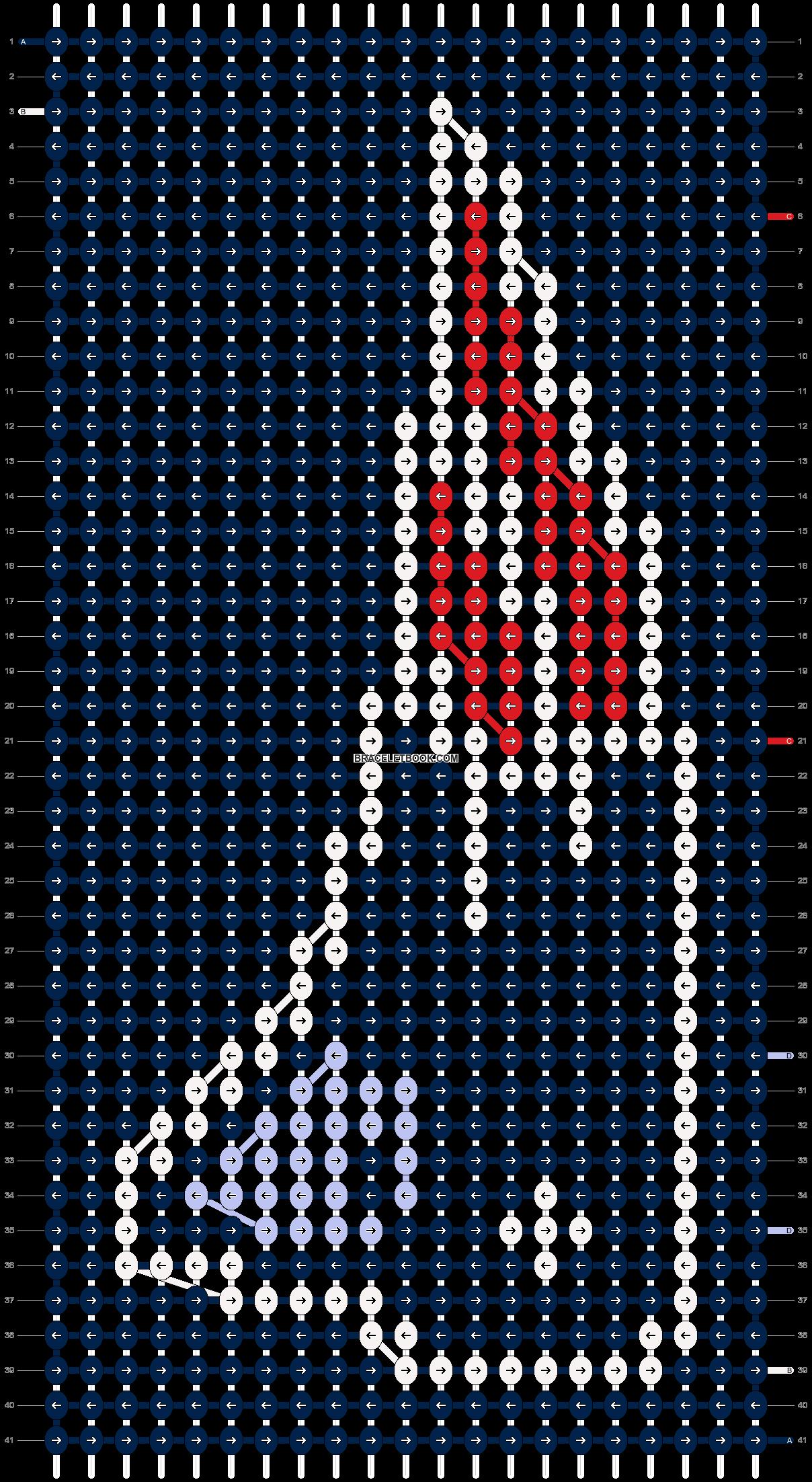 Alpha pattern #12268 pattern