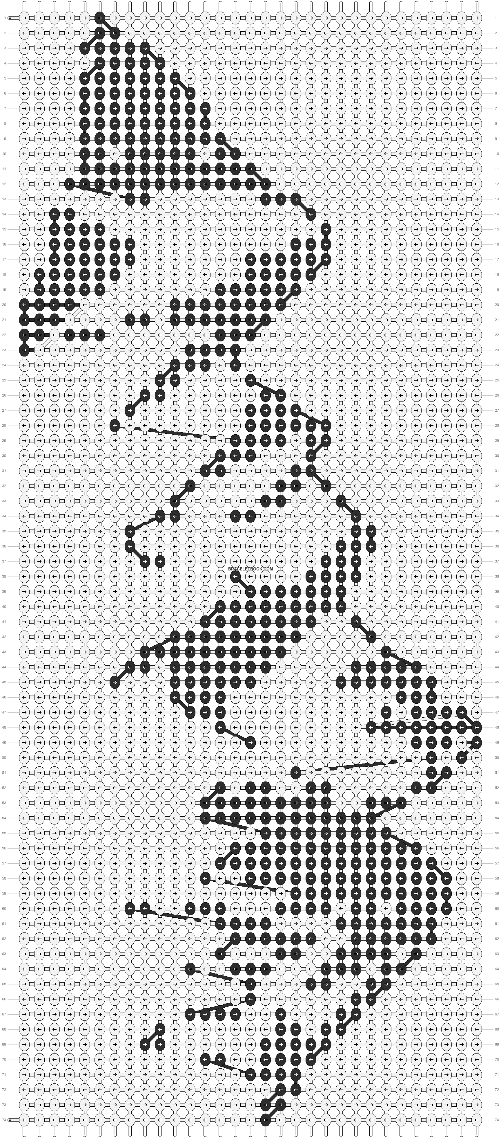 Alpha pattern #12275 pattern