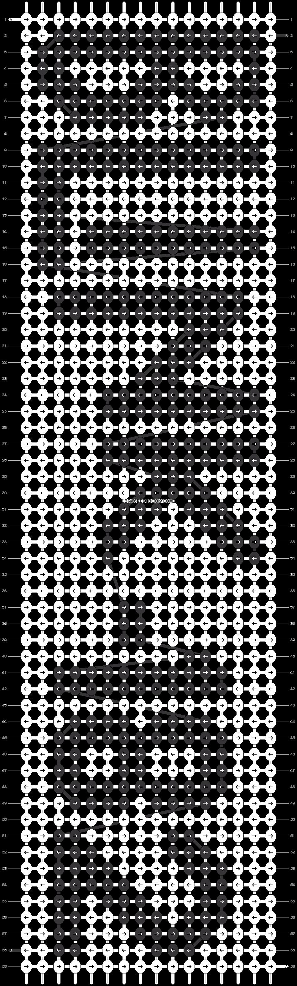 Alpha pattern #12288 pattern