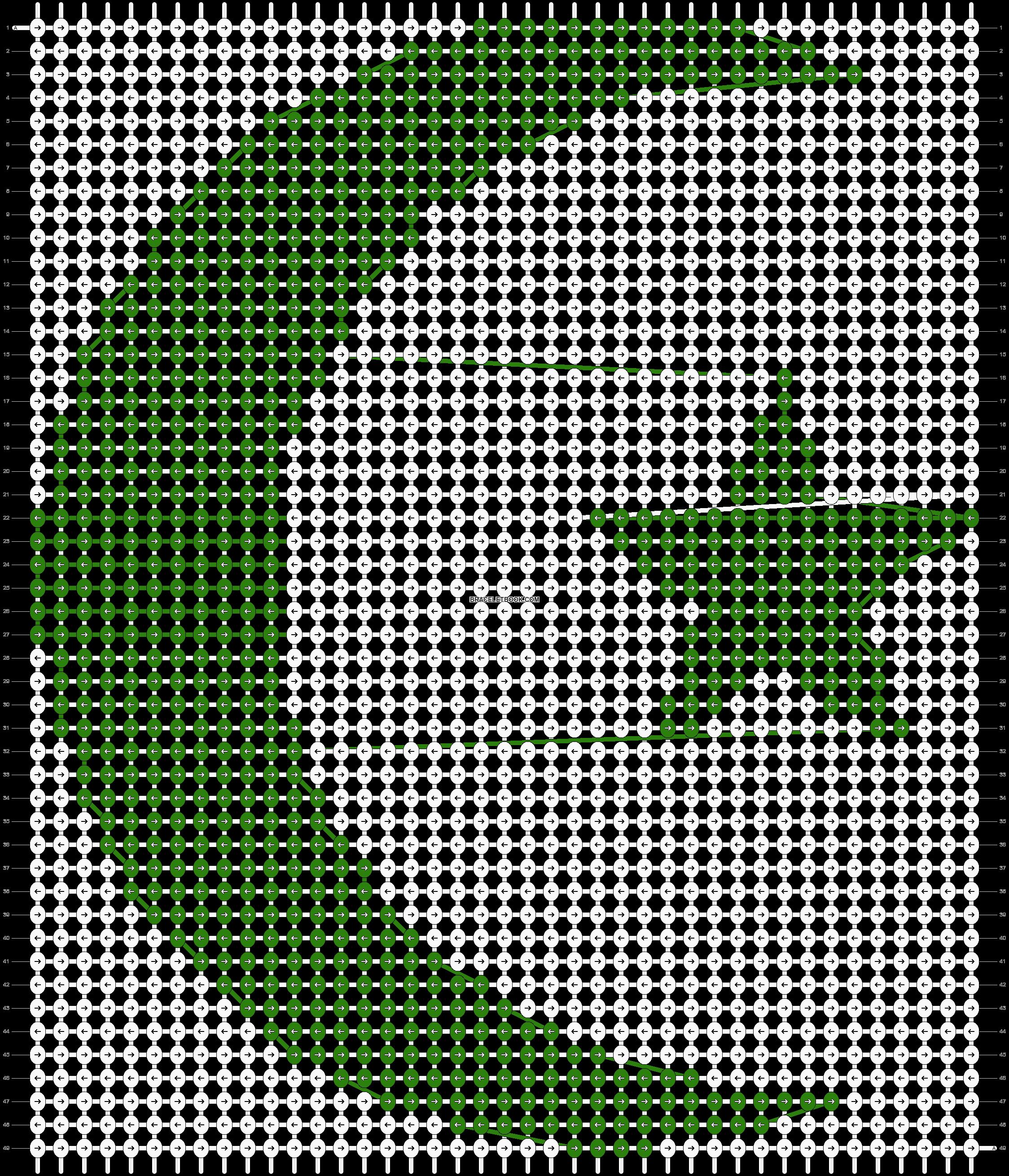 Alpha pattern #12302 pattern