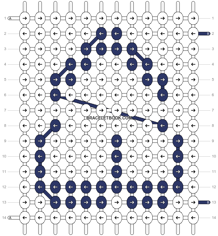 Alpha pattern #12306 pattern