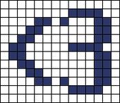 Alpha pattern #12306