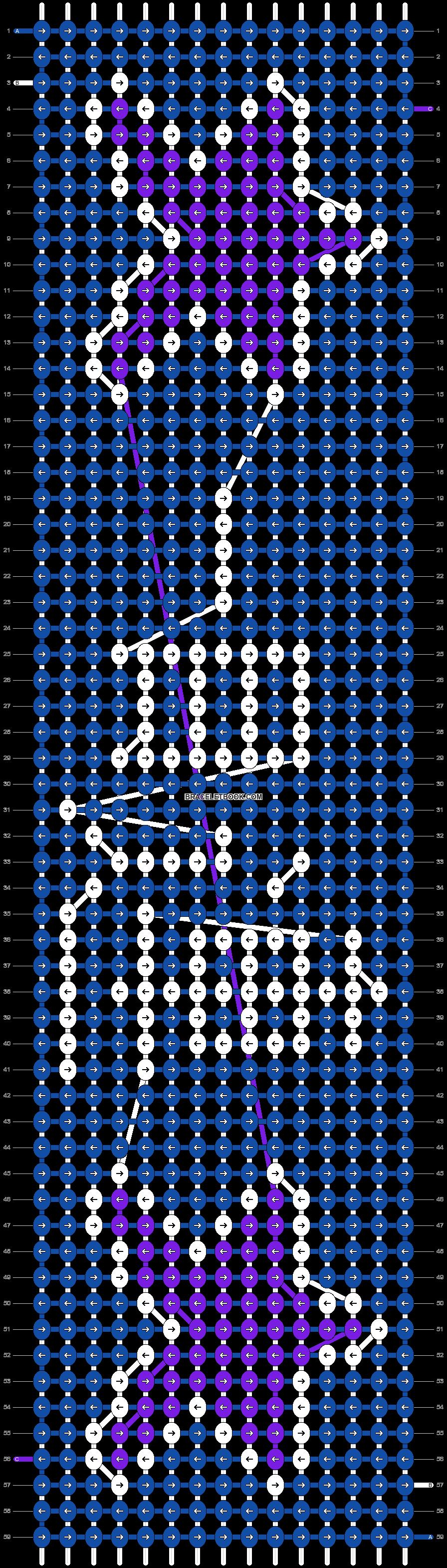 Alpha pattern #12324 pattern