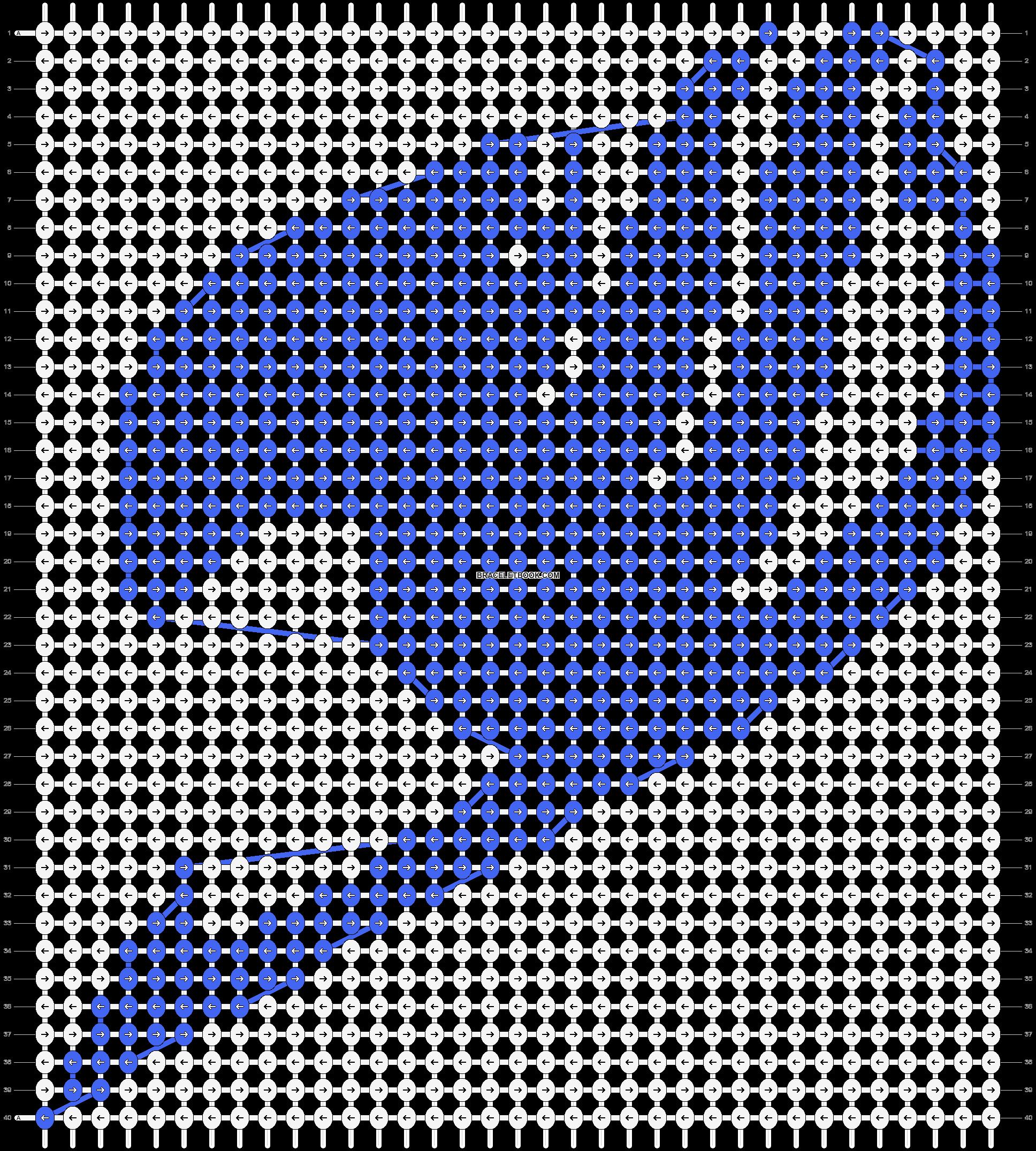Alpha pattern #12325 pattern