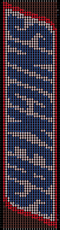 Alpha pattern #12334 pattern