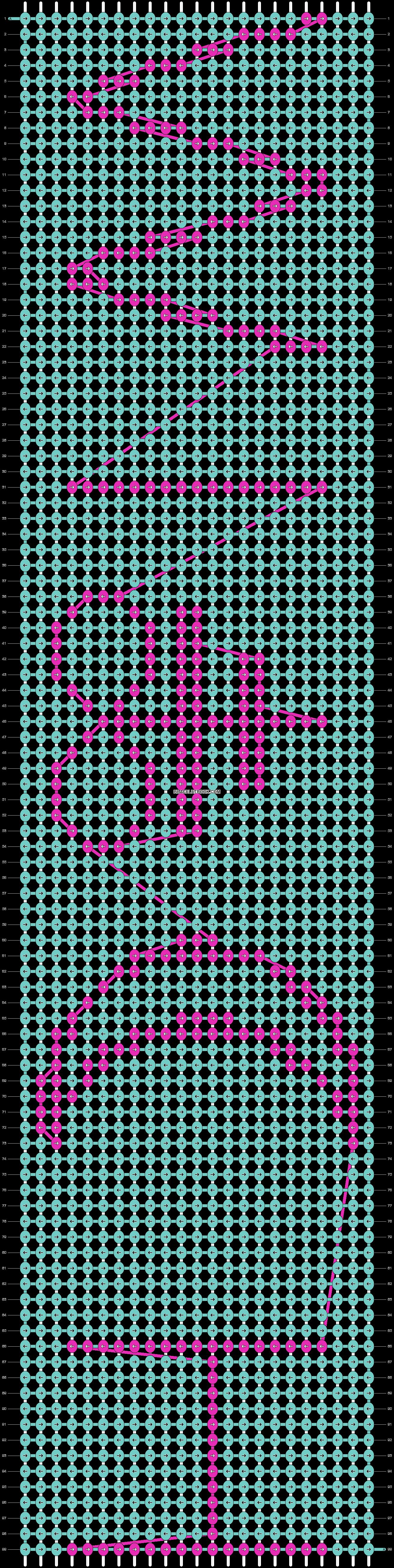 Alpha pattern #12337 pattern