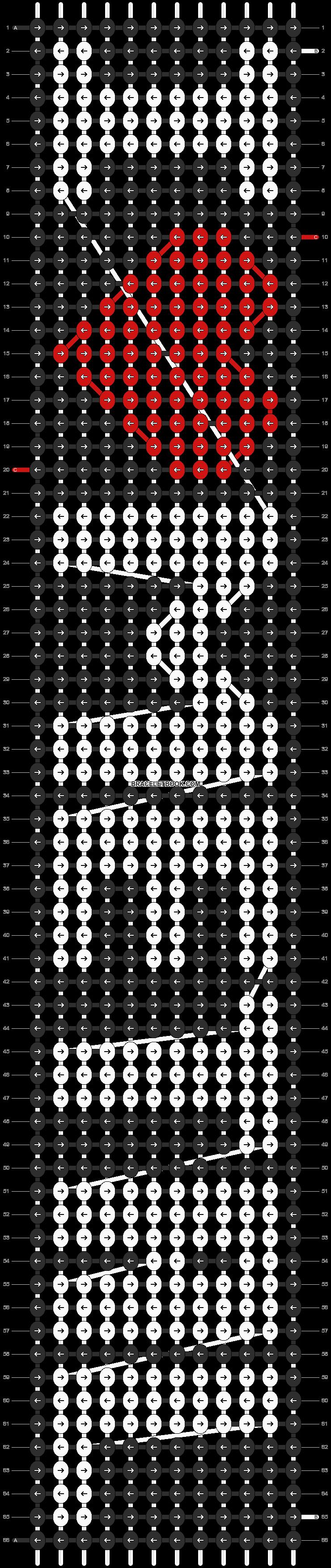 Alpha pattern #12339 pattern