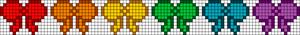 Alpha Friendship Bracelet Pattern #12341