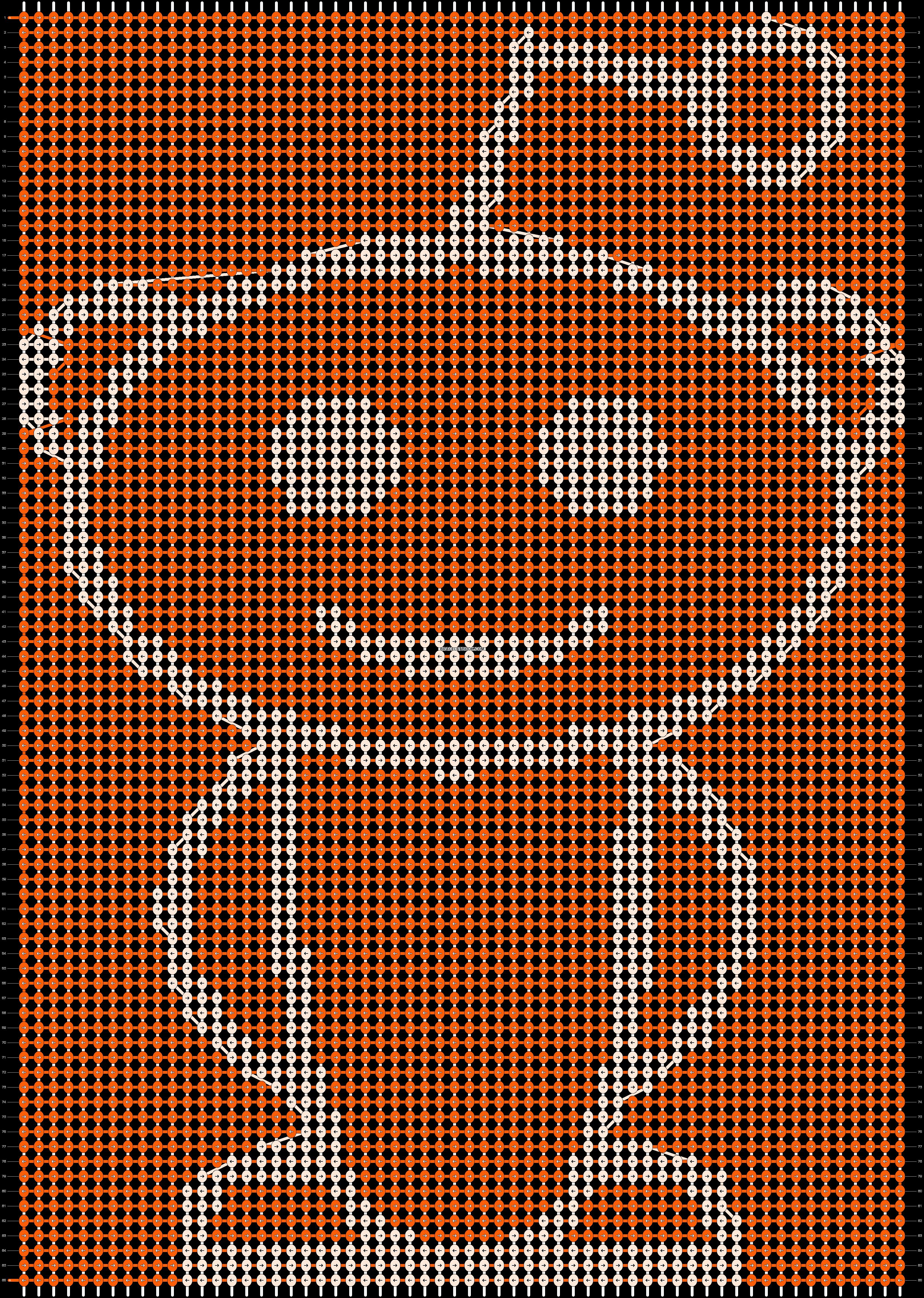 Alpha pattern #12356 pattern