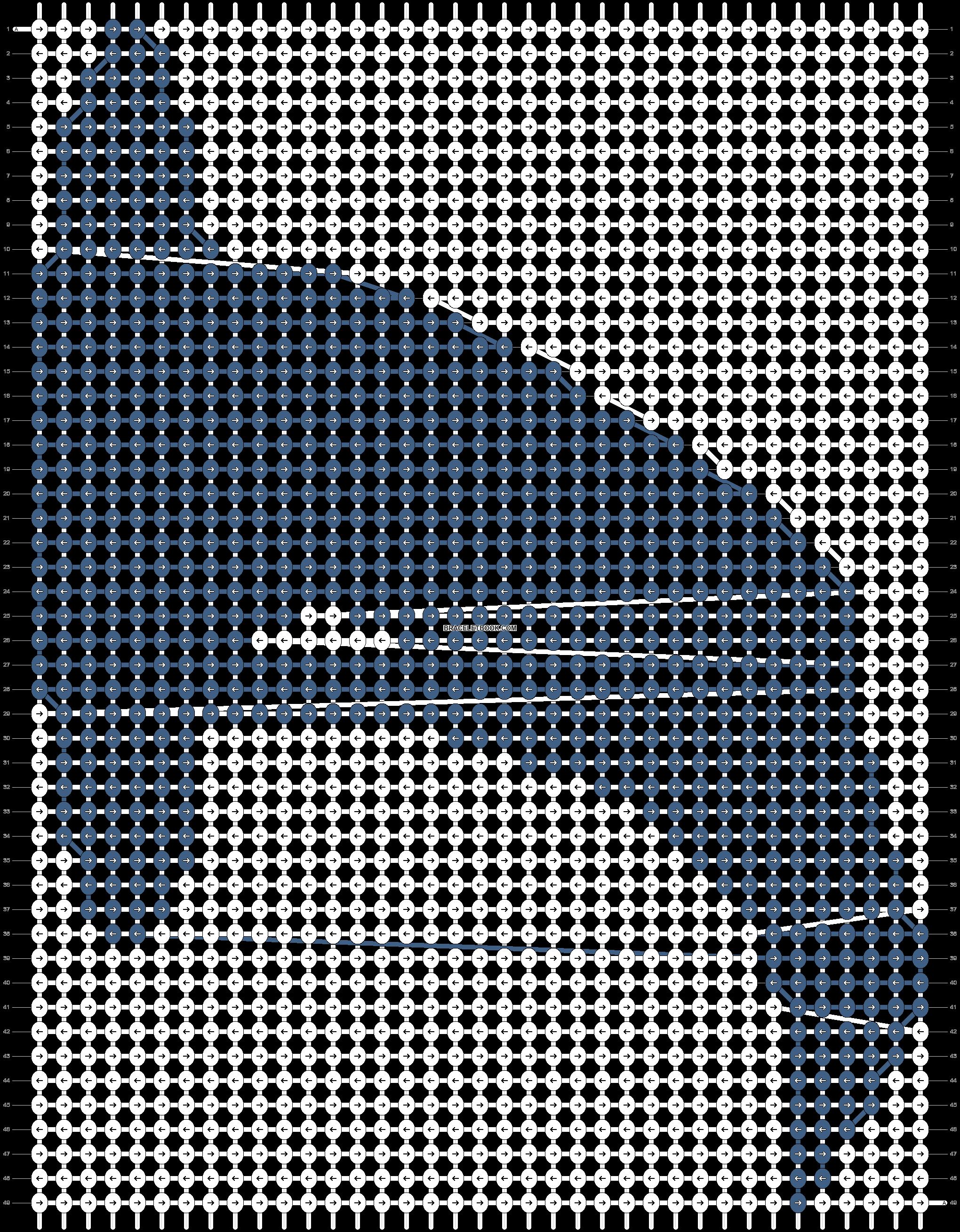 Alpha pattern #12357 pattern