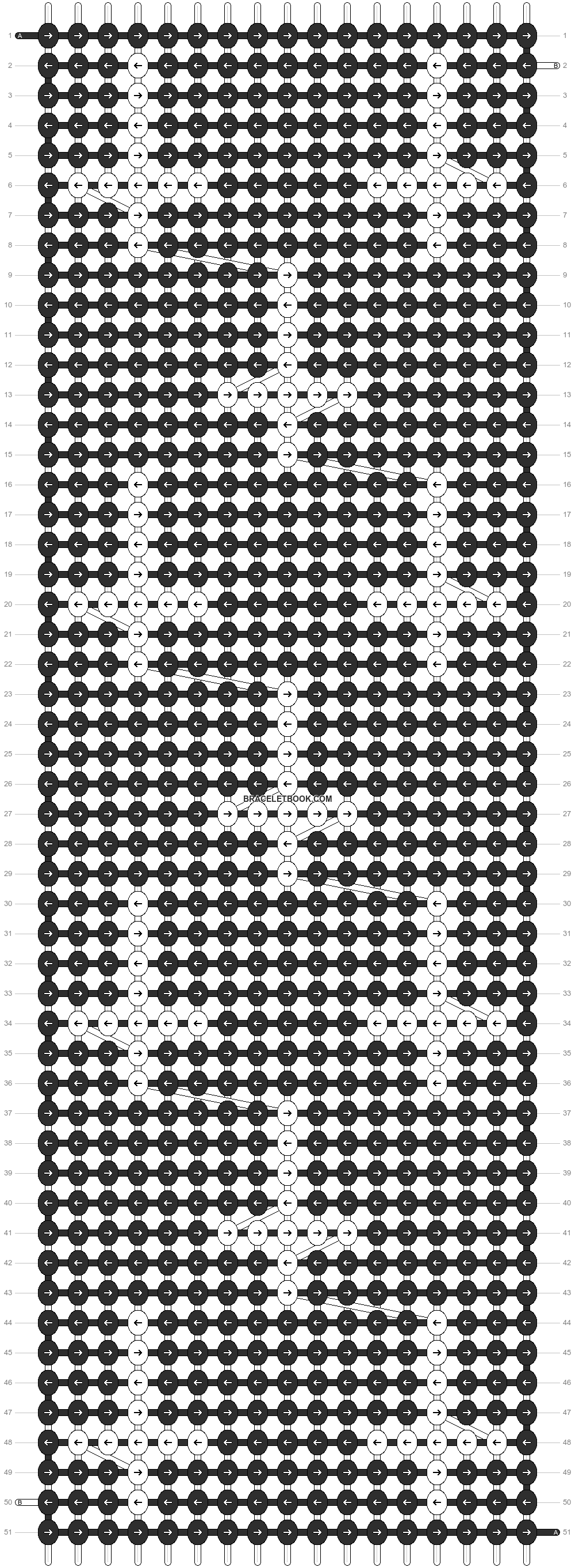 Alpha pattern #12360 pattern