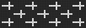 Alpha Friendship Bracelet Pattern #12360