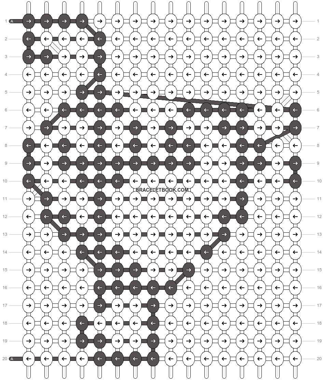 Alpha pattern #12361 pattern