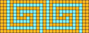 Alpha pattern #12363