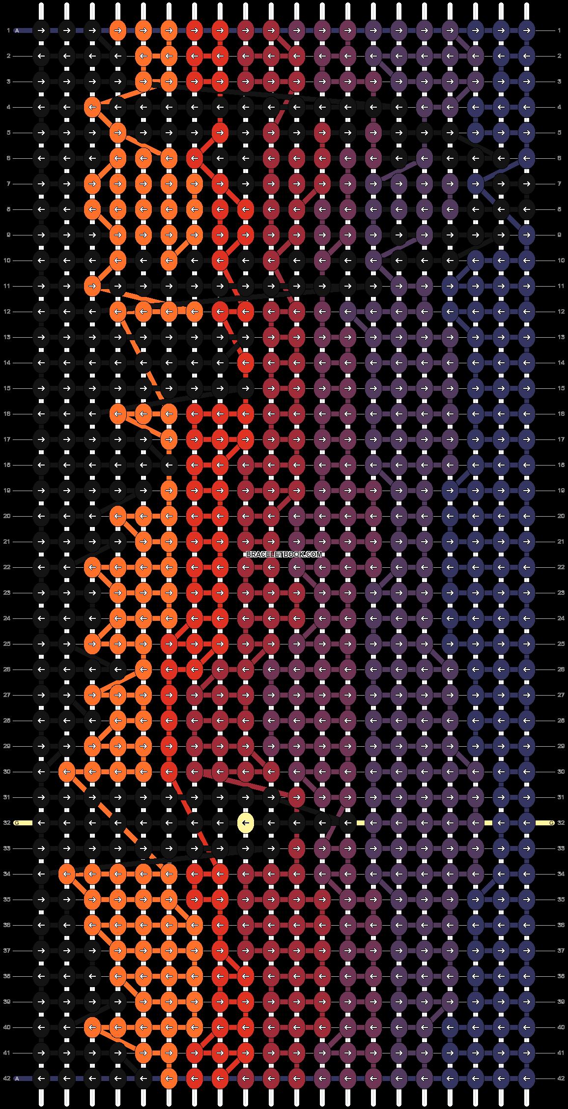 Alpha pattern #12365 pattern
