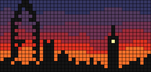 Alpha pattern #12365