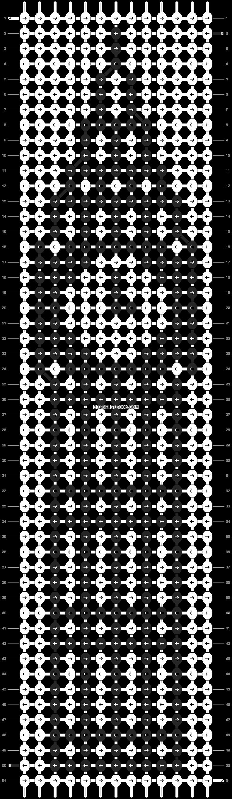 Alpha pattern #12366 pattern