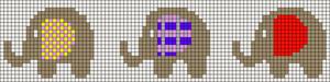 Alpha pattern #12373