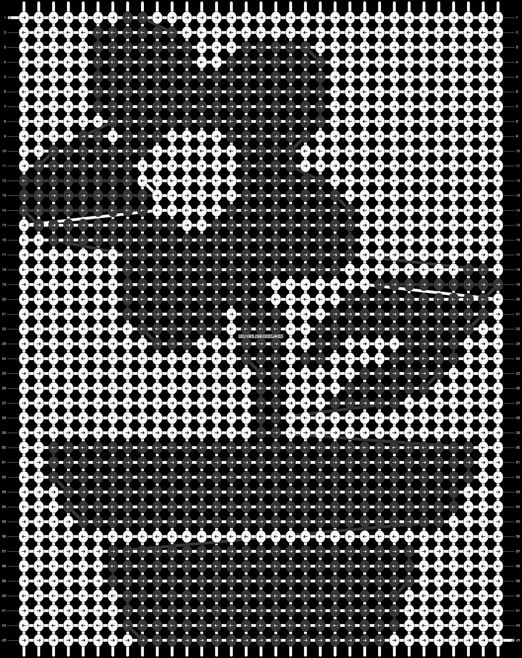 Alpha pattern #12377 pattern