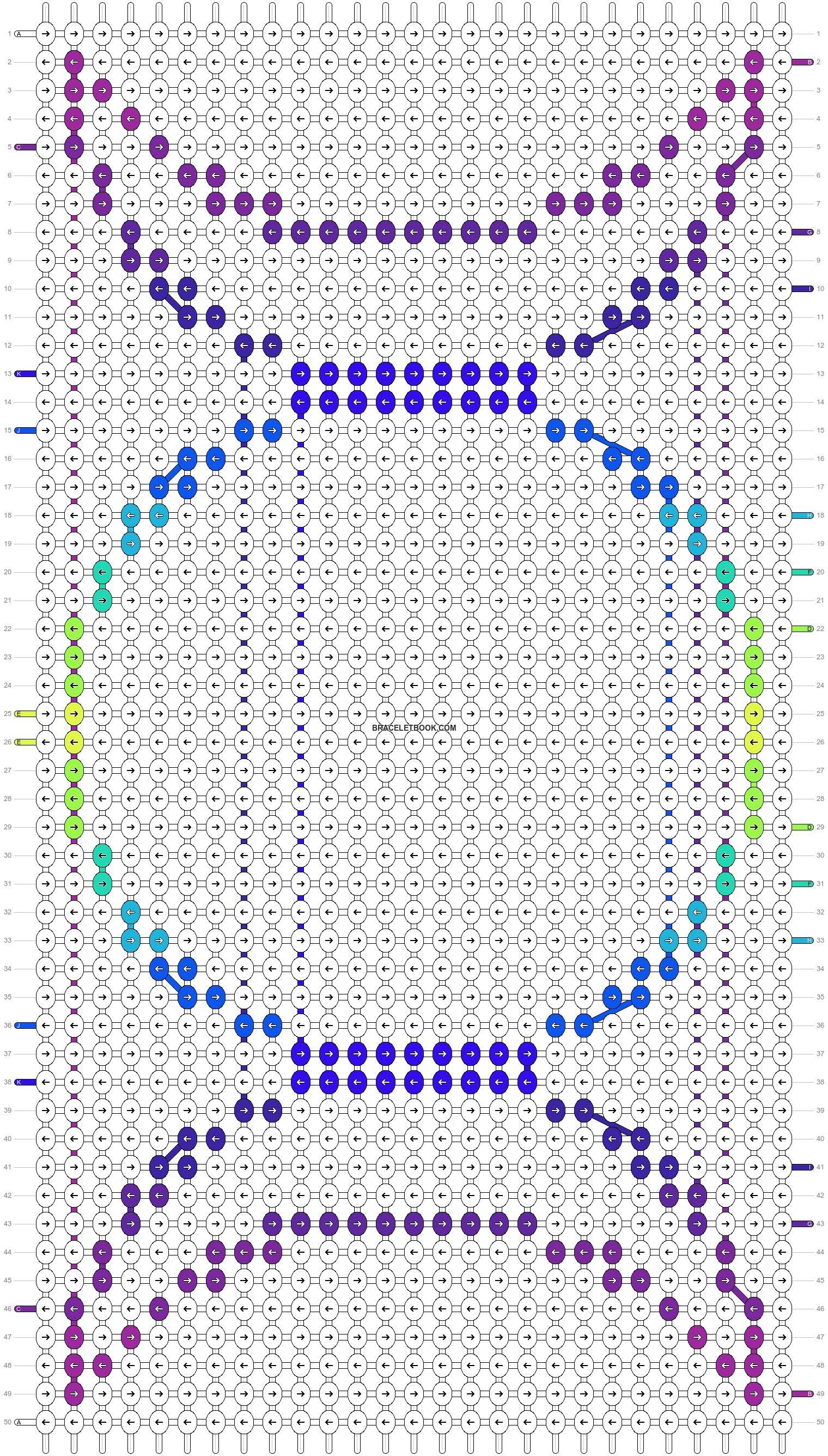 Alpha pattern #12382 pattern