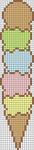Alpha pattern #12383