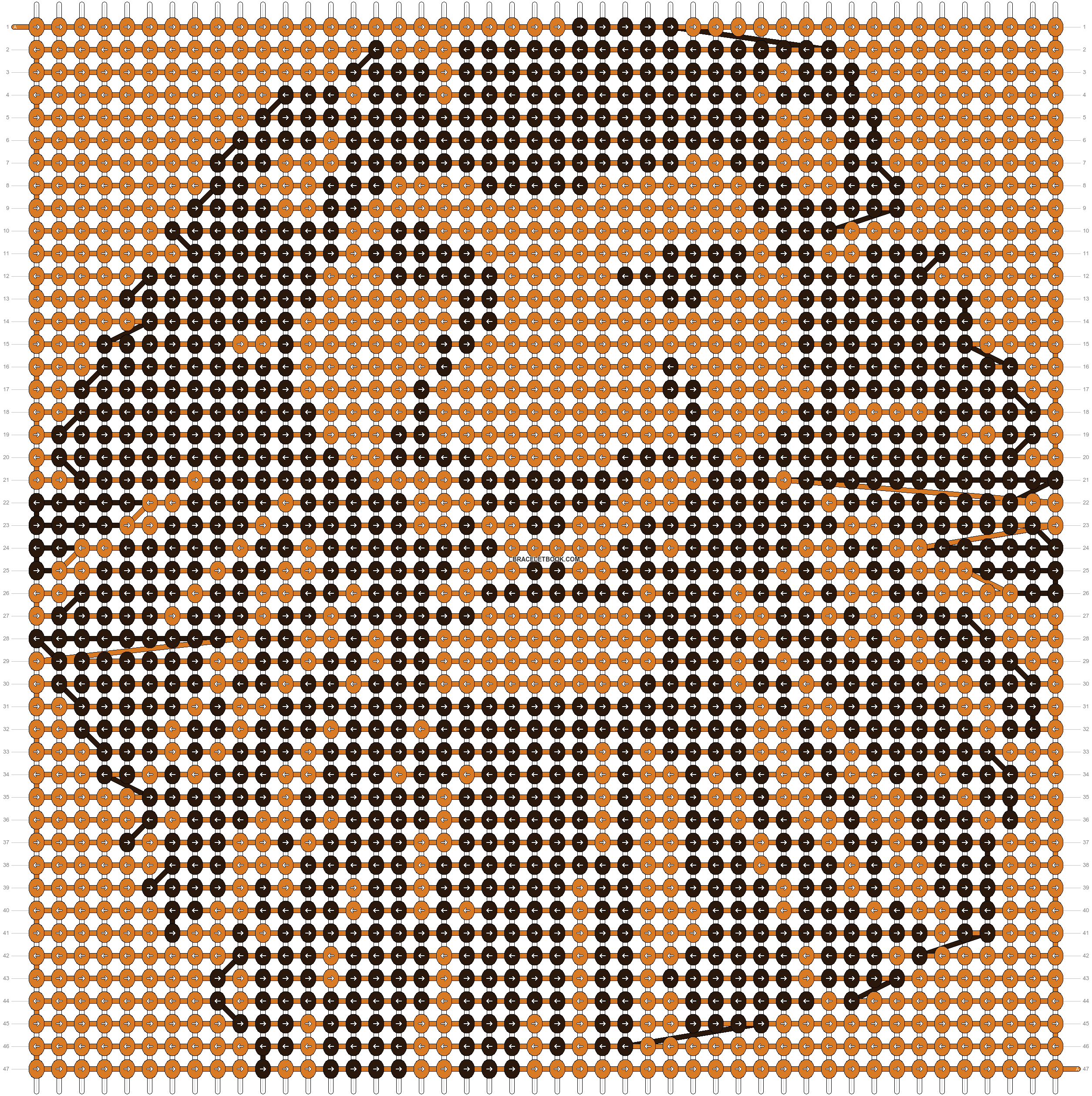 Alpha pattern #12388 pattern