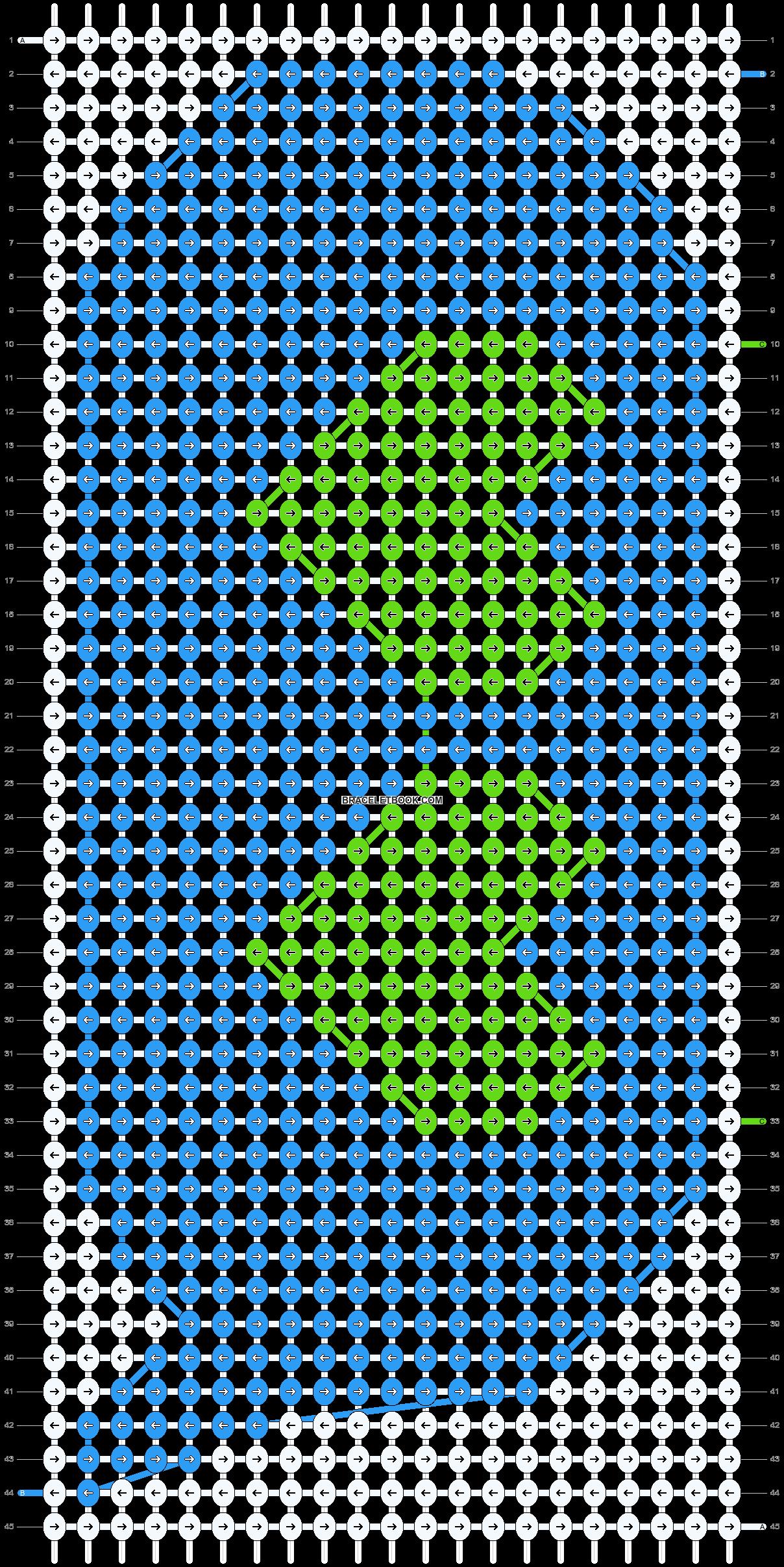 Alpha pattern #12390 pattern