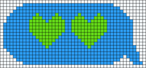 Alpha pattern #12390