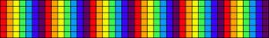 Alpha Friendship Bracelet Pattern #12398