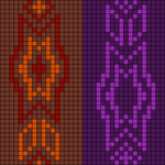 Alpha Friendship Bracelet Pattern #12399