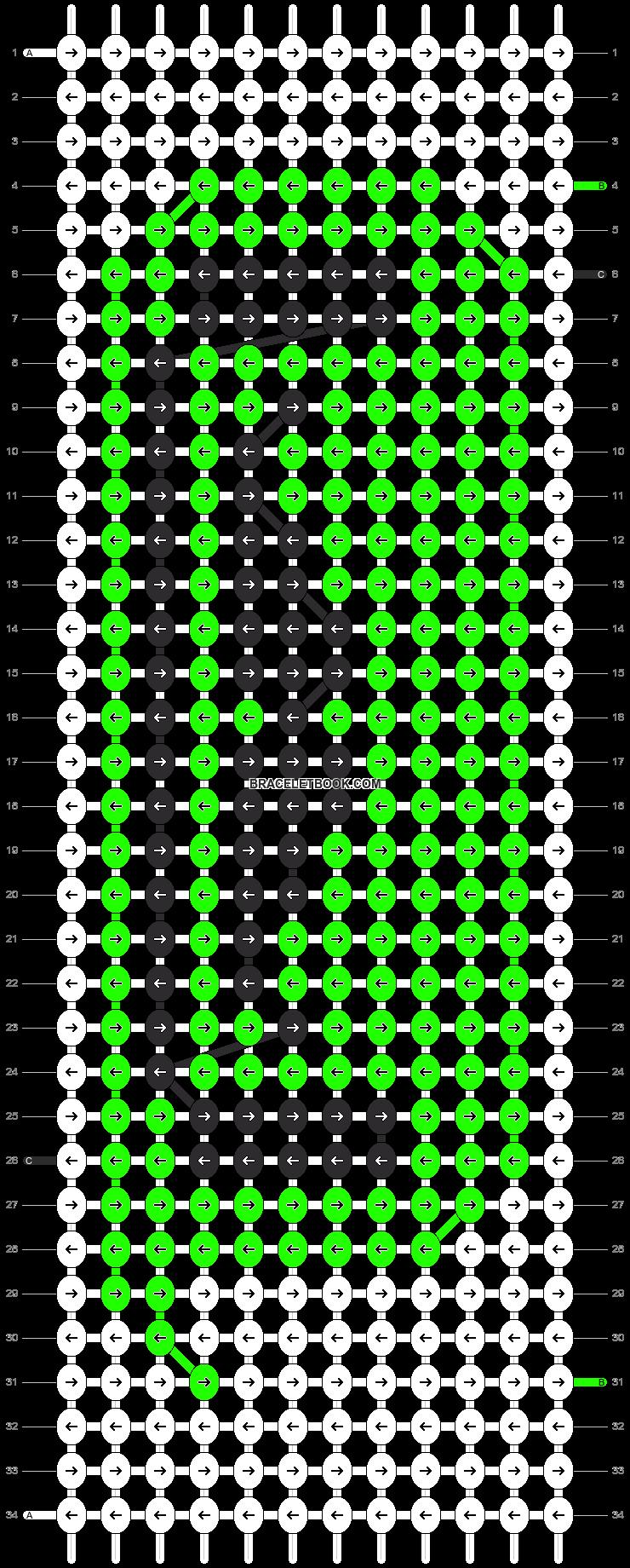 Alpha pattern #12403 pattern