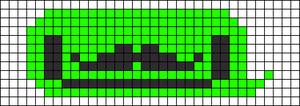 Alpha Friendship Bracelet Pattern #12403