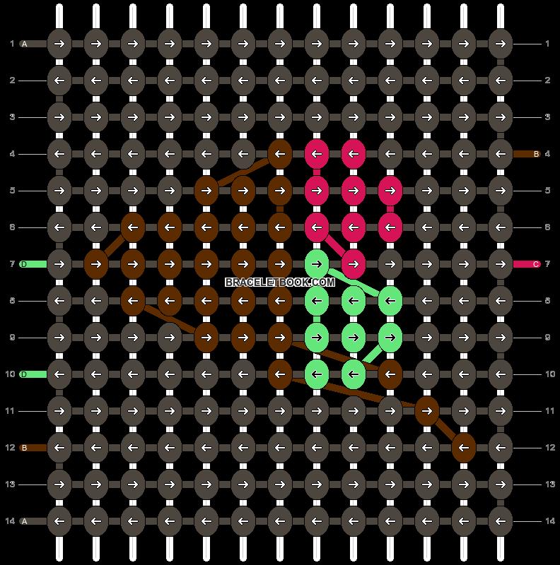 Alpha pattern #12405 pattern