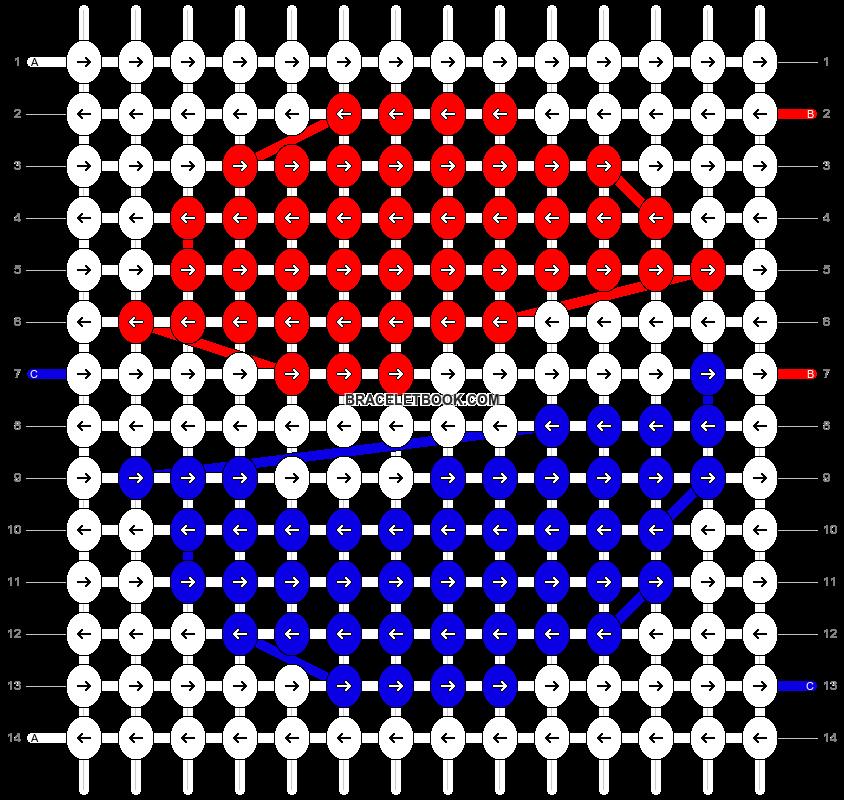 Alpha pattern #12411 pattern